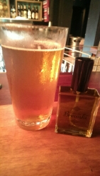 Galaxy infused cologne with a single hop Galaxy beer.