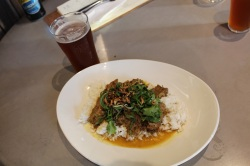 Beef Rendang matched with a Hair of the Blog