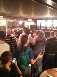 Packed in Tippler's for the Untappd Event