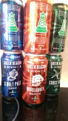 Green Beacons new cans