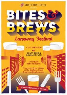 Bites & Brews LanewayFestival
