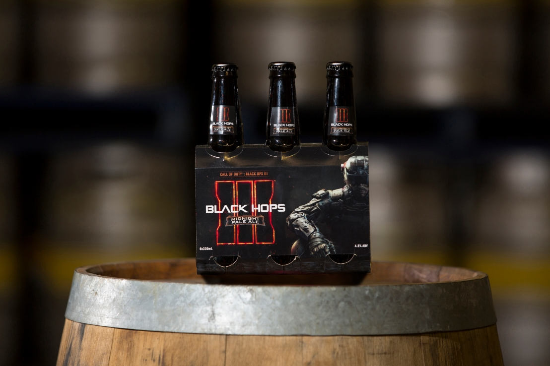 Media Release: World's first Call of Duty® Craft Beer Created by Black Hops Brewing