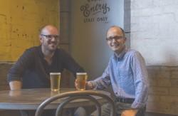 James Grugeon (left) and Darren Kindleysides (right)