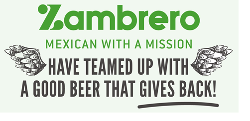 Media Release: Double the Good, By Having a Burrito and a Beer